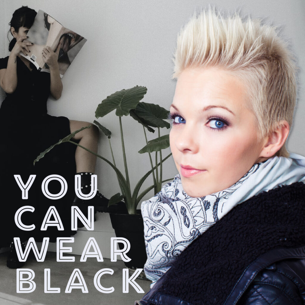 You can wear black_Trish Keena